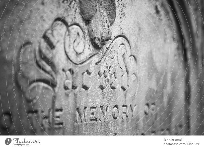 zu Tode betrübt Kirche Friedhof Grabstein Stein trist Romantik Opferbereitschaft Traurigkeit Trauer Senior Endzeitstimmung Religion & Glaube Nostalgie