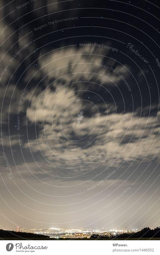 dresden bei nacht Umwelt Landschaft Himmel Wolken Nebel Altstadt Haus Bauwerk Architektur Terrasse Sehenswürdigkeit Wahrzeichen hoch Lichtschein Lichtstrahl