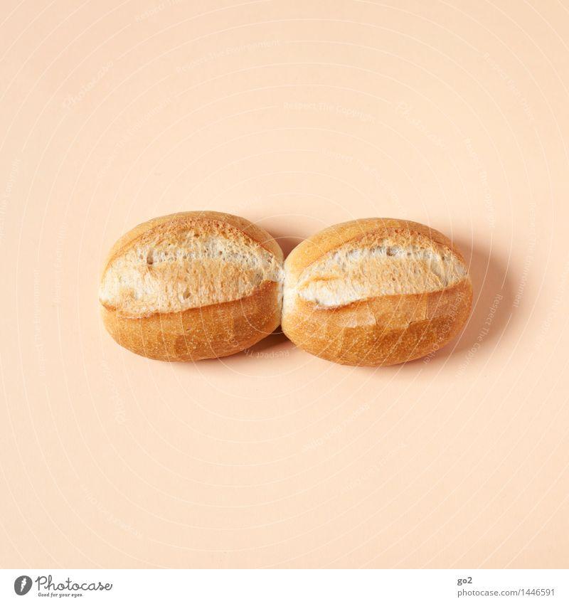 Alltag verbindet Essen lustig Lebensmittel braun Zusammensein ästhetisch Ernährung lecker Frühstück Backwaren Teigwaren Brötchen Bäcker Bäckerei