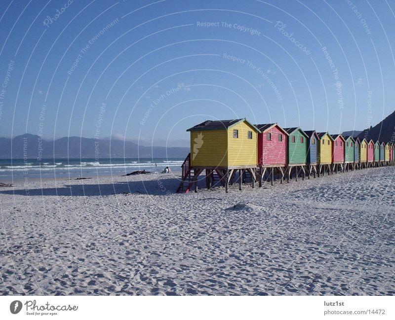 hüttenamstrand Strand Zufriedenheit Afrika Hütte
