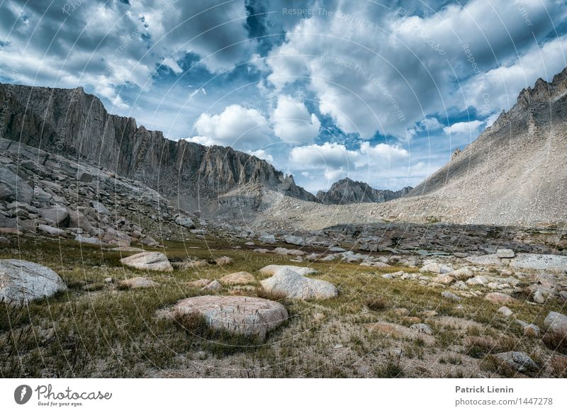 Sierra Nevada Himmel Natur Ferien & Urlaub & Reisen Pflanze Sommer Landschaft Wolken Ferne Berge u. Gebirge Umwelt Freiheit Stein Felsen Wetter Luft wandern