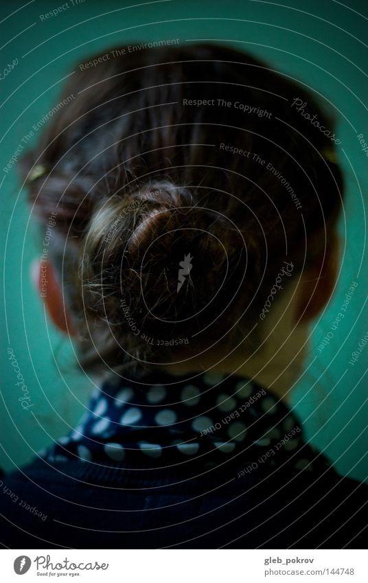 rothaariges Porträt. Haare & Frisuren Russland Sibirien Bekleidung Zirkel Hemd Top Mensch Dinge Kate Behaarung Mode Beschleunigung Pokrow Freudentaumel