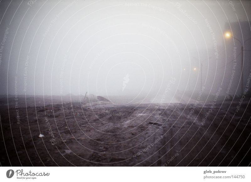 Himmel Natur Pflanze Herbst Straße dunkel Landschaft Lampe Kunst Wetter Nebel Müll Laterne Russland Sibirien
