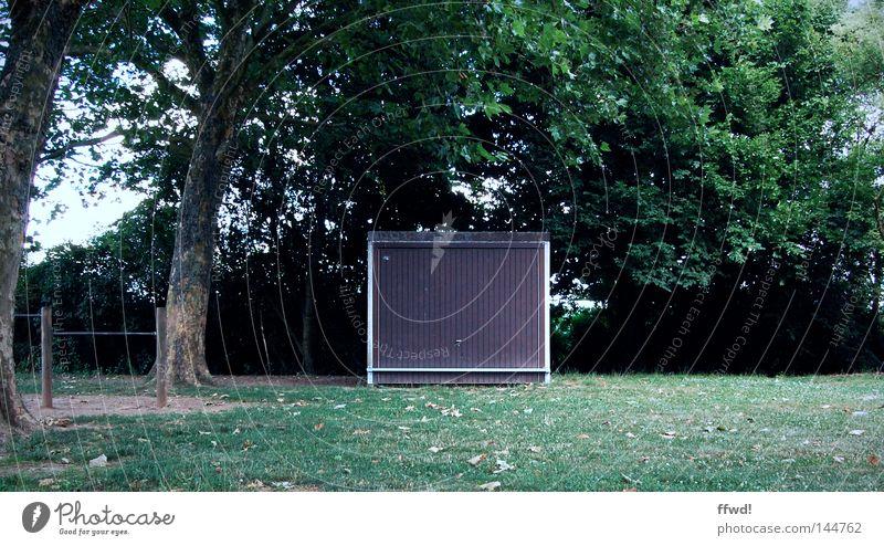 schöner parken grün Baum Blatt Wiese Spielen Park Tor obskur Parkplatz Garage Aktien Lager Spielplatz Platz Stellplatz