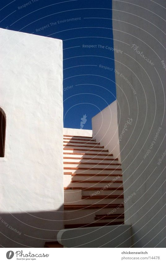 stairs Himmel Haus Wand Architektur Treppe