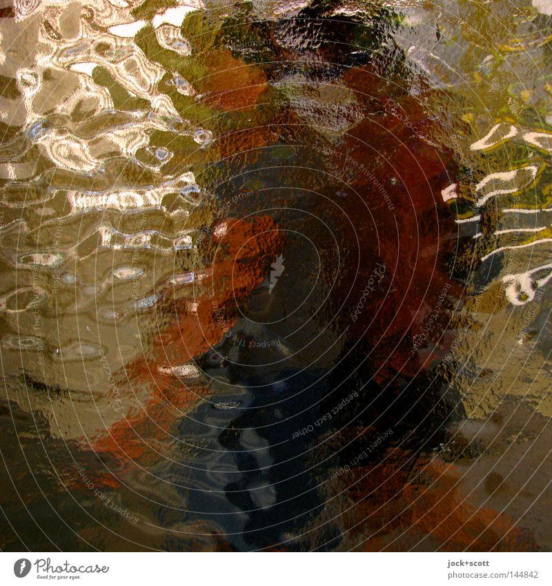 Uschi Glas mit Freundin Zufriedenheit Färbung Flachglas Beschichtung gestreut Tagtraum Örtlichkeit Bewusstsein Charakter Transzendenz Esprit Strukturen & Formen