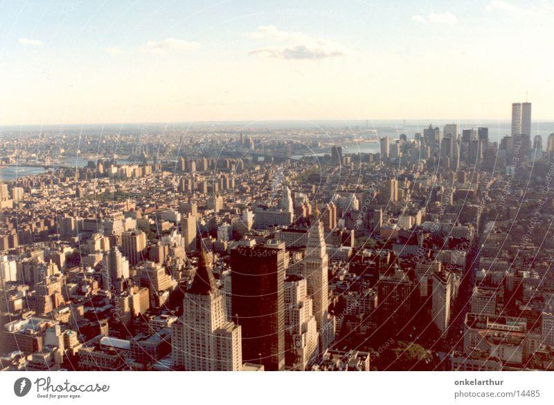 New York Hochhaus World Trade Center Nordamerika Manhatten Skyline Stadt
