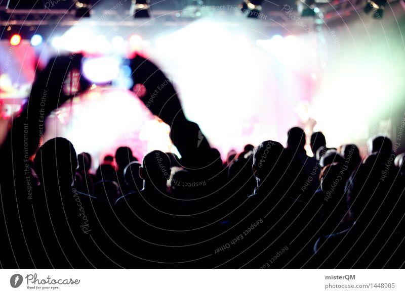 Life is a Party III Kunst Bühne Musik Musik hören Konzert Open Air Sänger Band Musiker Gitarre Schlagzeug Medien ästhetisch Fan live Veranstaltung Partystimmung