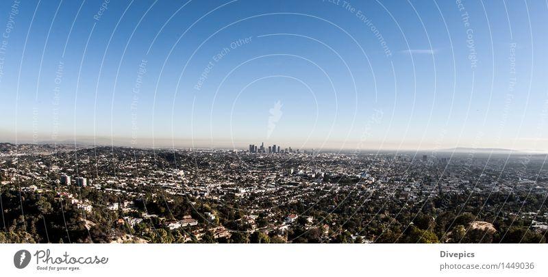 Los Angeles Skyline Kleinstadt Gebäude alt Architektur Straße Außenaufnahme schön Natur Licht Park attraktiv Symbole & Metaphern Hintergrund neutral