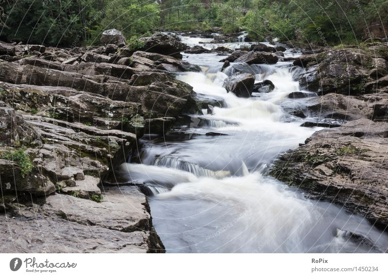 Falls of Dorchard Natur Ferien & Urlaub & Reisen schön Sommer Wasser Landschaft ruhig Umwelt Bewegung Sport Glück Idylle wandern ästhetisch gefährlich