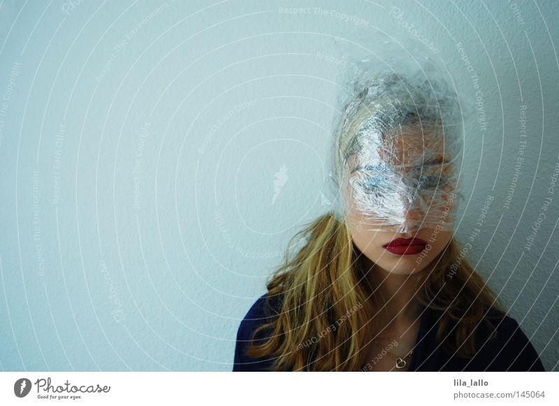 Psychodelic II Mensch Frau Einsamkeit träumen Angst verrückt Dinge Vergänglichkeit schlafen Konzepte & Themen Suche gruselig Irritation Rauschmittel Alkohol