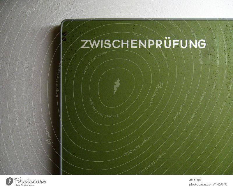 Prüfungszeit Studium Prüfung & Examen Bildung fh Holzbrett Schriftzeichen Schilder & Markierungen Schatten Hinweisschild ... Zusammensein