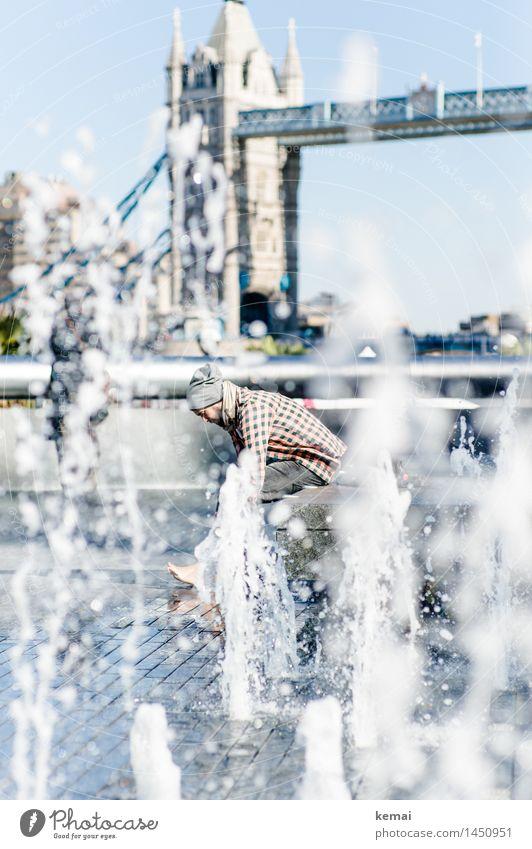 Waterman (5) Mensch Ferien & Urlaub & Reisen Jugendliche nackt Wasser Junger Mann Freude 18-30 Jahre Erwachsene Leben Stil Lifestyle außergewöhnlich maskulin
