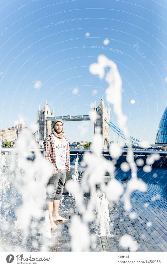 Waterman (7) Mensch Ferien & Urlaub & Reisen Jugendliche Wasser Junger Mann ruhig 18-30 Jahre Erwachsene Leben Stil Lifestyle außergewöhnlich Fuß maskulin