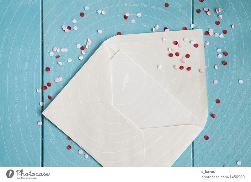 Einladung Freude Glück Valentinstag Silvester u. Neujahr Hochzeit Geburtstag Party Feste & Feiern Kommunizieren Fröhlichkeit blau rosa rot Verliebtheit Kontakt