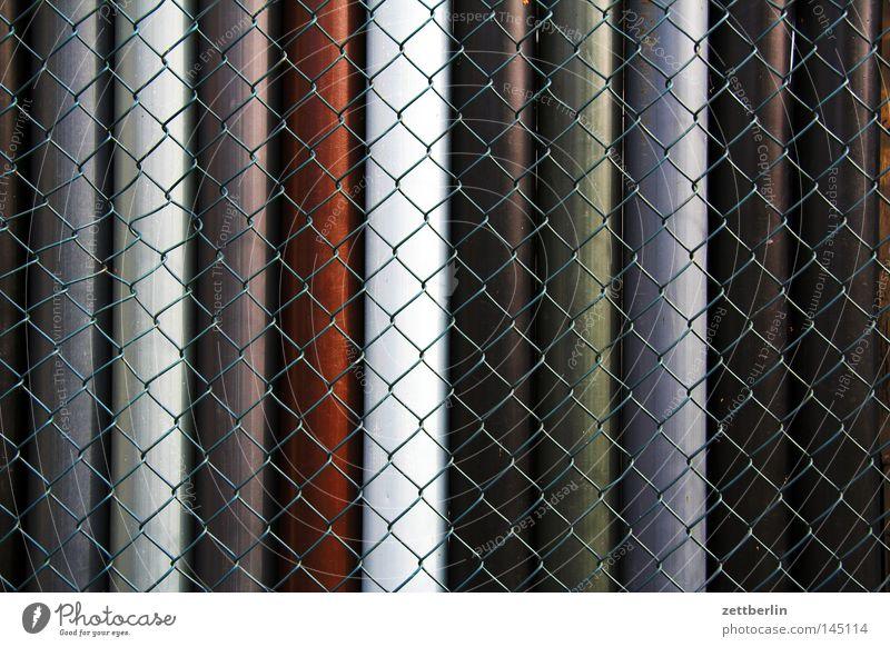 Maschendrahtzaun Sicherheit Grenze Röhren Handwerk Zaun Material vertikal Gegend Sicherheitsdienst Wasserrohr Abteilung Fallrohr Kanalisation Baumarkt