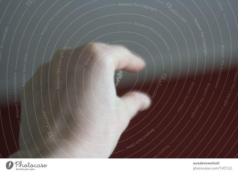 bring it together Hand weiß rot Farbe Zusammensein Finger verbinden graphisch Arbeit & Erwerbstätigkeit Schichtarbeit