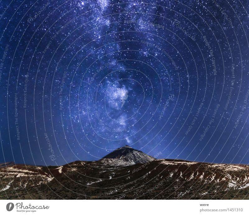 Zauberberg Ferien & Urlaub & Reisen Tourismus Ausflug Abenteuer Ferne Freiheit Sightseeing Berge u. Gebirge Nachtleben wandern Umwelt Natur Landschaft Himmel