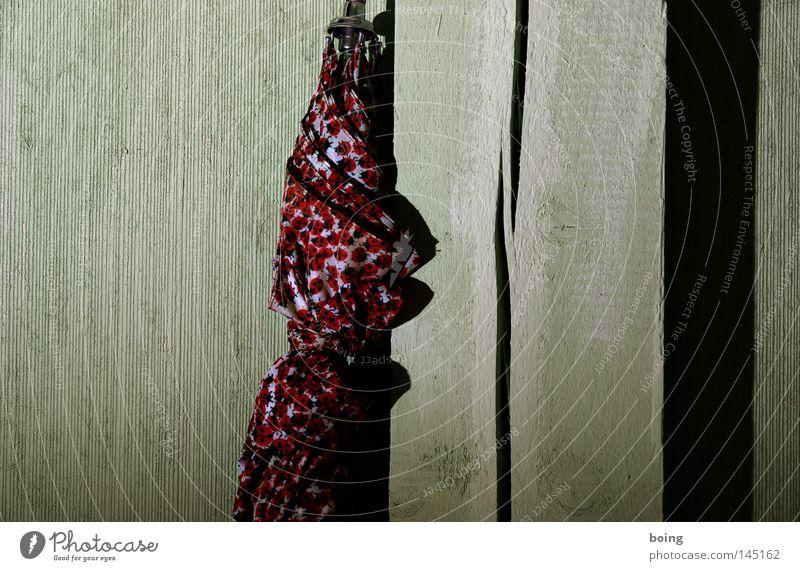 pontchens Sonnenschirm in der Chipfälscherwerkstatt Herbst Wand Wetter Bekleidung Regenschirm Gewitter Schirm parken Marienkäfer Käfer vergessen Meteorologie