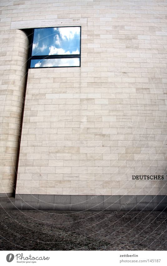 Pei Berlin Fenster Mauer Architektur modern Tourismus Kultur Messe Reflexion & Spiegelung Museum Ausstellung Museumsinsel Hochkultur