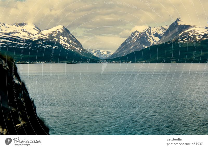 Norwegen (4) Europa Ferien & Urlaub & Reisen Reisefotografie Tourismus Landschaft Berge u. Gebirge Tal Felsen Himmel Berghang Panorama (Aussicht)