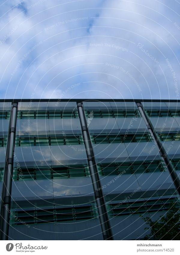 block #3 Himmel Wolken Haus Architektur Hochhaus Balkon Block