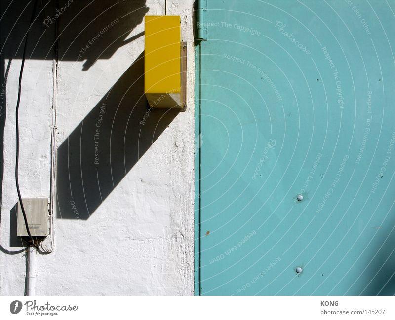 whitelake beach Wasser blau gelb Farbe Farbstoff türkis Block grell Farben und Lacke Schlagschatten