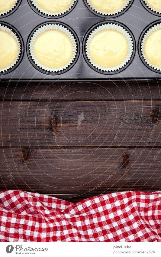 Muffins Erholung Essen Holz Lebensmittel Wohnung Freizeit & Hobby Ernährung Tisch Kochen & Garen & Backen Küche Wellness lecker Wohlgefühl Süßwaren Restaurant