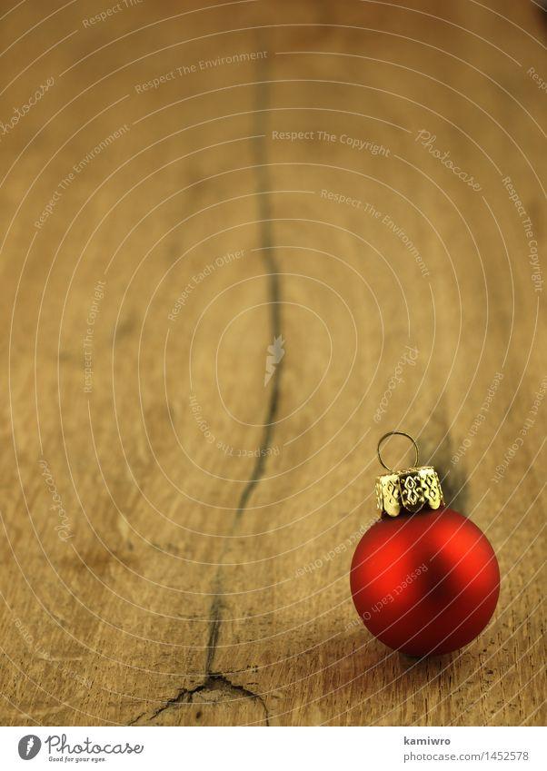 Weihnachtsschmuck Natur alt Weihnachten & Advent Pflanze rot Winter dunkel natürlich Holz Glück Feste & Feiern braun Design Dekoration & Verzierung Tisch
