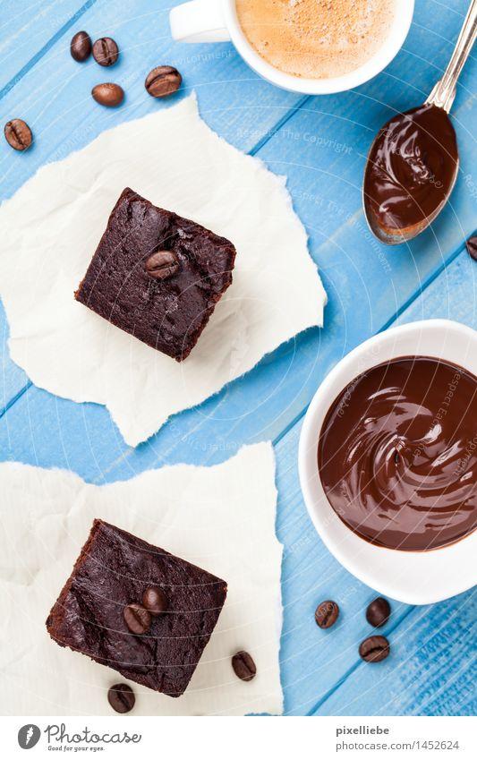 Nachtischchen Lebensmittel Kuchen Dessert Süßwaren Schokolade Ernährung Kaffeetrinken Fingerfood Getränk Heißgetränk Kakao Latte Macchiato Espresso Tasse Löffel