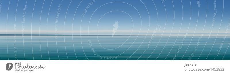 Still ruht der See Angeln Kunst Natur Luft Wasser Wolkenloser Himmel Sommer Klima Schönes Wetter Blick einfach gut Geschwindigkeit blau grün Abenteuer