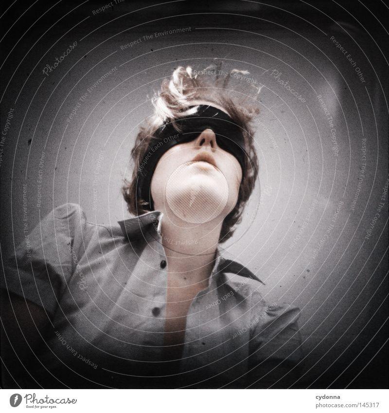 Analog//Digital IV Sucher Experiment analog planen Mittelformat Motivation Unschärfe Versuch Rollfilm Vorbereitung klassisch Blende Zeit Frau Porträt