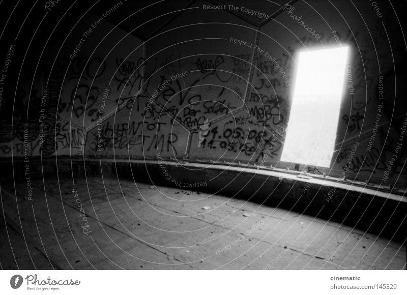 Portal Himmel alt Einsamkeit Stimmung Wind Dach Ball USA verfallen Kugel Kontrolle unheimlich Geräusch zerstören Radarstation Grunewald