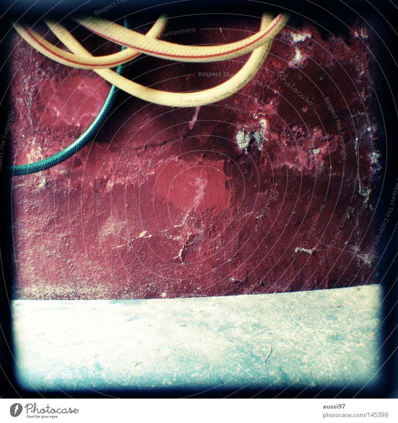 ttv Gartenschlauch Schlauch durcheinander Spritze Gartenarbeit Arbeit & Erwerbstätigkeit gießen analog Sucher umrandet Rahmen Haushalt Treppe verwrungen drehen