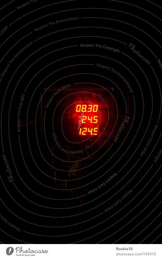 Code-Red dunkel Kennwort schwarz rot glühend erleuchten Information minimalistisch reduzieren Countdown ungewiss Fabrik Zähler Bestandsaufnahme Angst Panik