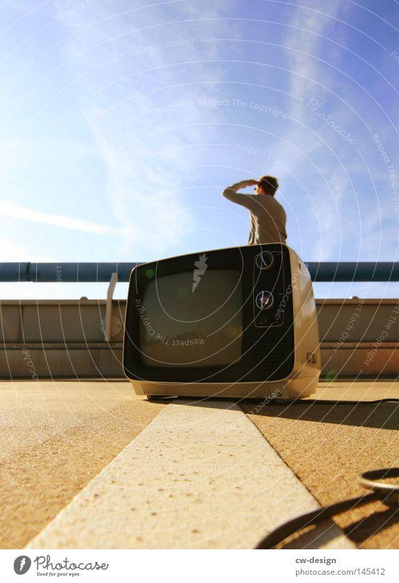 FERN SEHEN a.k.a. KULTURPROGRAMM pt.VI Design Freizeit & Hobby Sommer Medienbranche Fernseher Kabel Unterhaltungselektronik Informationstechnologie Mensch
