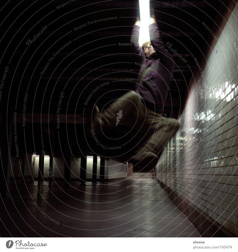 ::DER LICHTSCHWERT JEDI:: Mensch springen Angst fliegen Luftverkehr Macht Tunnel Flugzeuglandung Panik Waffe Schwert Star Wars