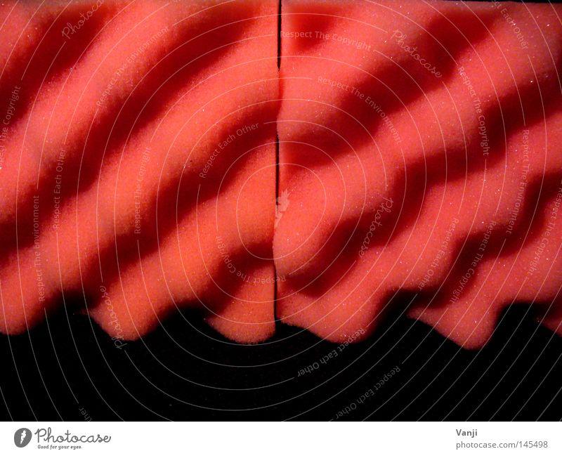 alles nur Schaum.. Wellen Kunst rosa Dekoration & Verzierung Stoff Kunststoff Brustwarze Verpackung Polster Kunsthandwerk Schaumstoff