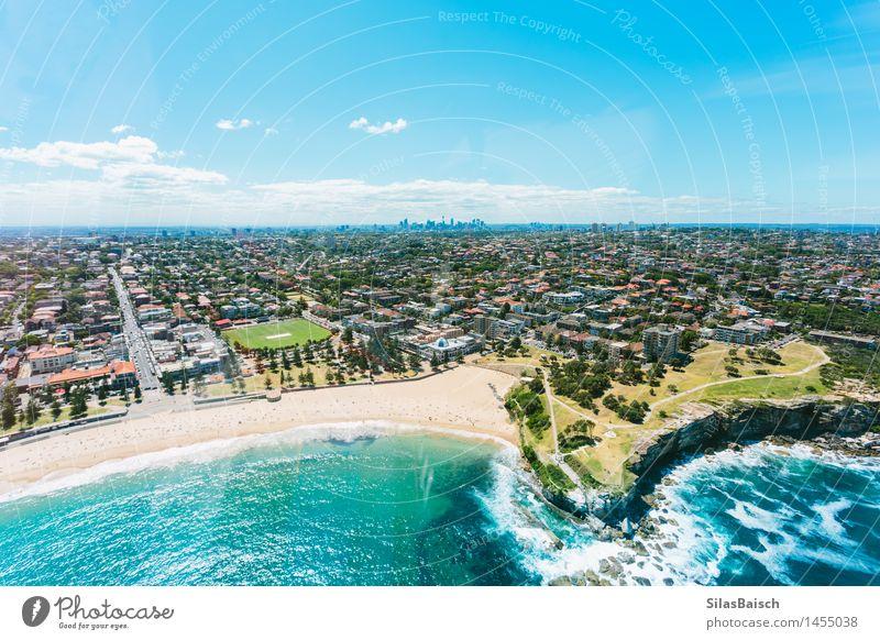 Schöner Coogee Strand in Sydney II Lifestyle Wellness Leben Wohlgefühl Zufriedenheit Erholung Meditation Ferien & Urlaub & Reisen Tourismus Ausflug Abenteuer