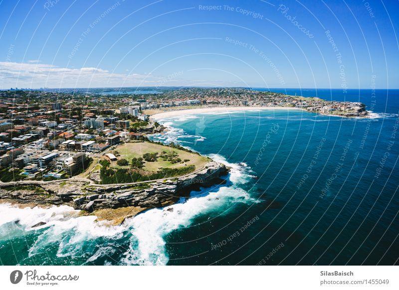 Bondi Beach I Ferien & Urlaub & Reisen Sommer Sonne Meer Erholung Ferne Strand Küste Lifestyle Freiheit Schwimmen & Baden Zufriedenheit Tourismus elegant Wellen