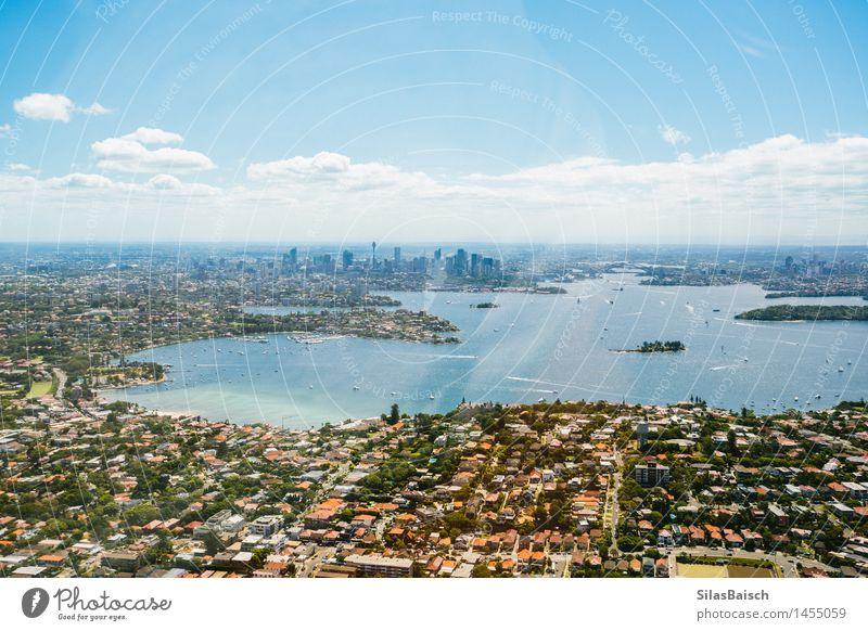 Sydney Habour Ferien & Urlaub & Reisen Stadt Sommer Sonne Meer Freude Ferne Strand Leben Lifestyle Freiheit Tourismus Wellen Insel Ausflug Abenteuer