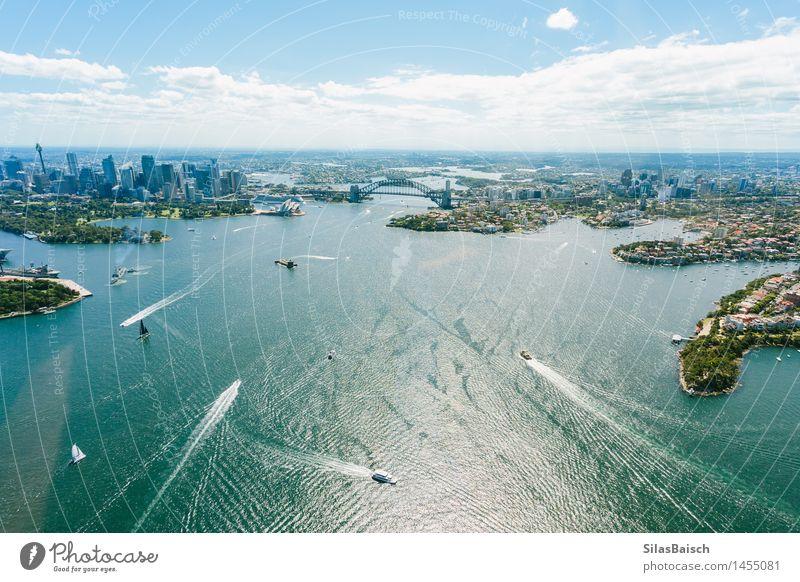 Sydney Habour Natur Ferien & Urlaub & Reisen Sommer Meer Ferne Leben Küste Glück Lifestyle Freiheit Tourismus Wellen Ausflug Schönes Wetter Abenteuer