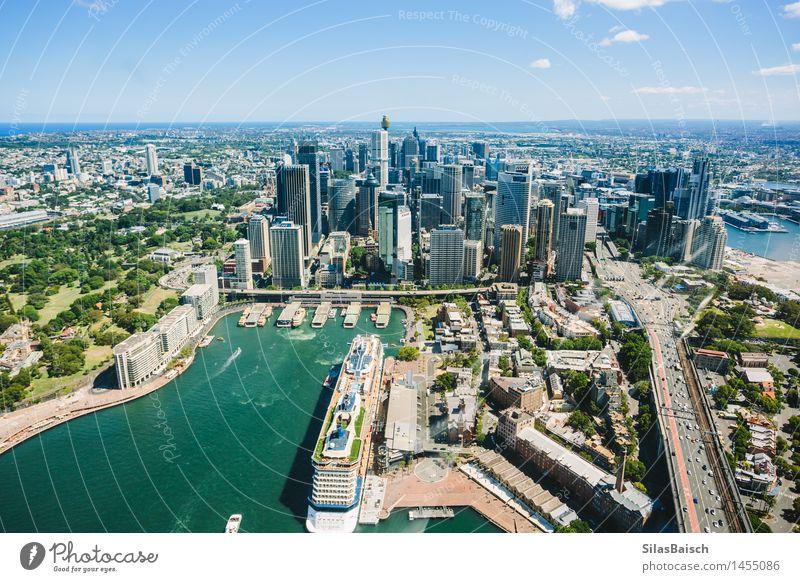 Sydney Downtown I Lifestyle Ferien & Urlaub & Reisen Tourismus Ausflug Abenteuer Ferne Freiheit Sightseeing Städtereise Kreuzfahrt Sommerurlaub Meer