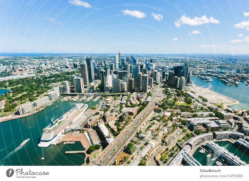Sydney Innenstadt II Ferien & Urlaub & Reisen Stadt Sommer Meer Freude Ferne Architektur Gebäude Lifestyle Freiheit Tourismus Wellen modern Insel Ausflug