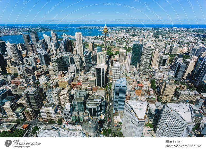 Sydney Innenstadt IV Ferien & Urlaub & Reisen Stadt Architektur Gebäude Lifestyle Tourismus Häusliches Leben Ausflug Abenteuer Hafen entdecken Skyline