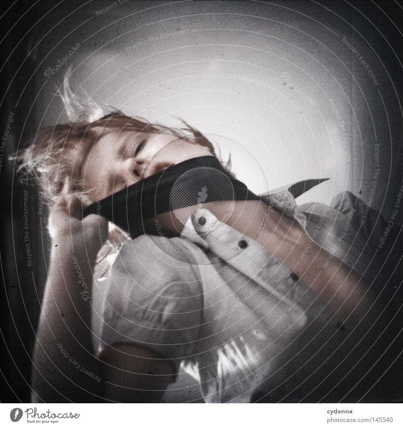 Analog//Digital VI Frau Mensch schön dunkel Gefühle Kopf Bewegung Haare & Frisuren hell Zeit Kraft Tanzen planen Perspektive geheimnisvoll analog