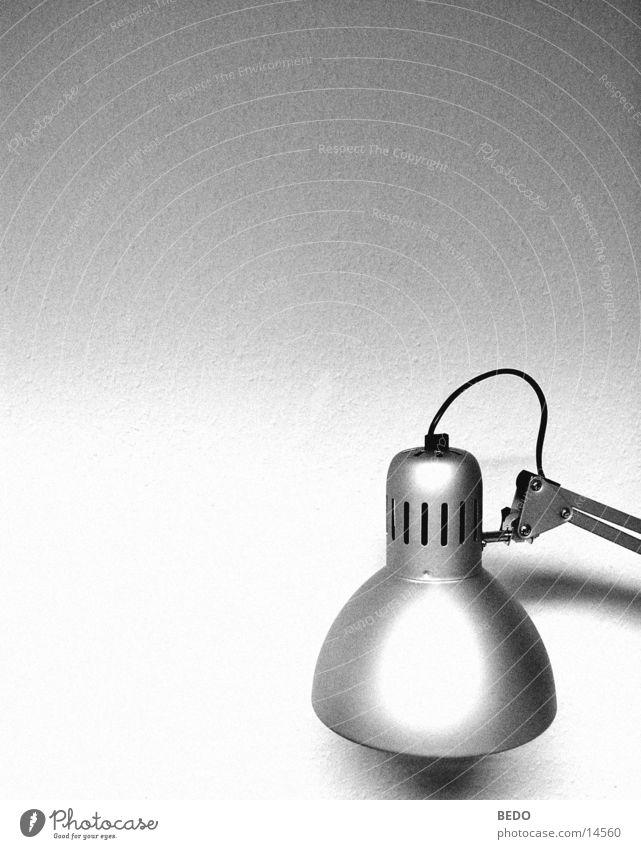 Lichtmache weiß schwarz Lampe Arbeit & Erwerbstätigkeit Technik & Technologie silber Elektrisches Gerät