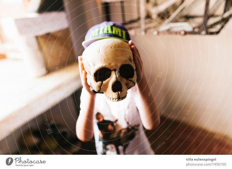 Mein kleines Schreckgespenst Ferien & Urlaub & Reisen Abenteuer maskulin Kind Junge Kindheit Leben Kopf 1 Mensch 3-8 Jahre Ausstellung entdecken Blick gruselig