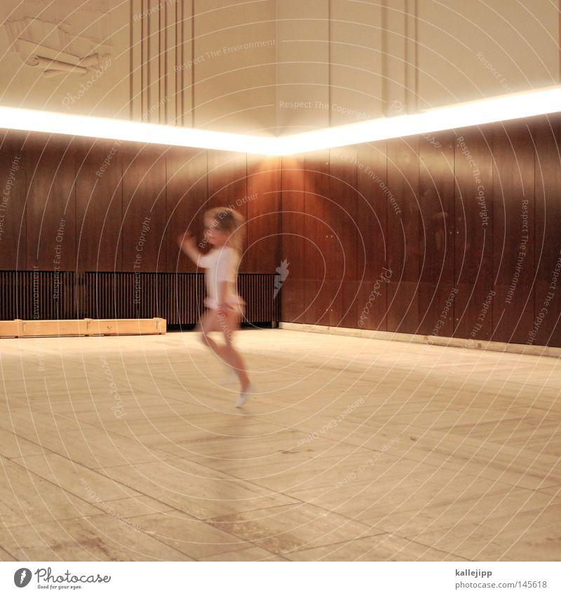 1800_primaballerina Kind schön Mädchen Sport Bewegung klein Lampe Kunst Musik Raum Kindheit Tanzen rosa lernen Tanzveranstaltung Bodenbelag