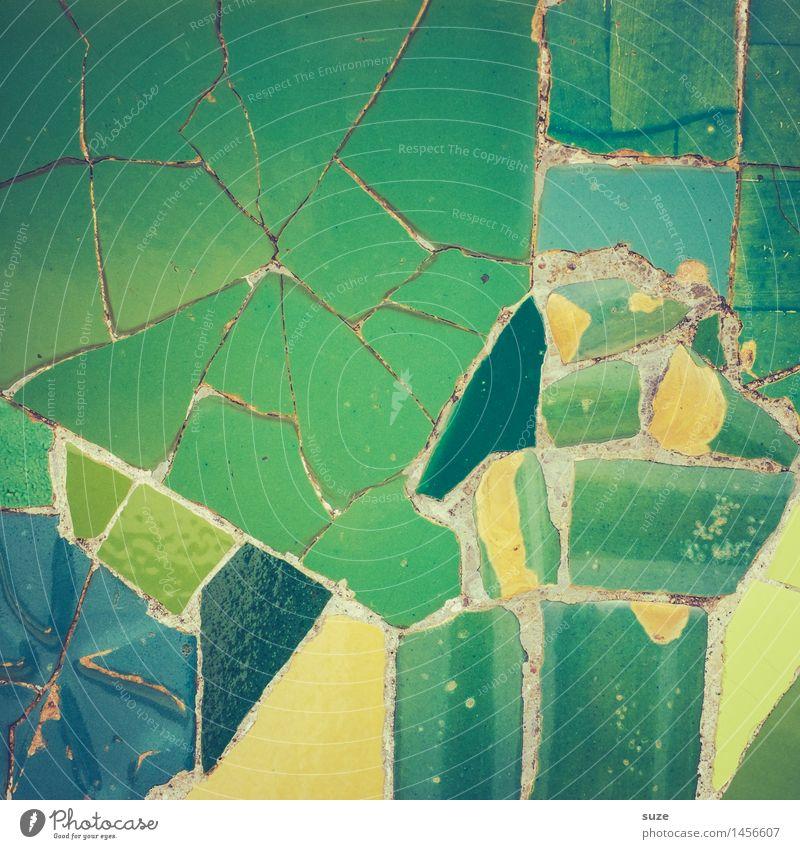 Moosaika Stil Design Handarbeit Innenarchitektur Dekoration & Verzierung Kunst Kunstwerk Architektur Sammlung Stein alt ästhetisch eckig historisch einzigartig